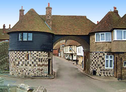 The Barbican Gate - Sandwich Kent